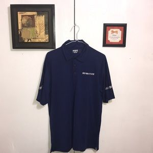 OGIO Men's Polo Shirt Medium Blue Nice Polyester